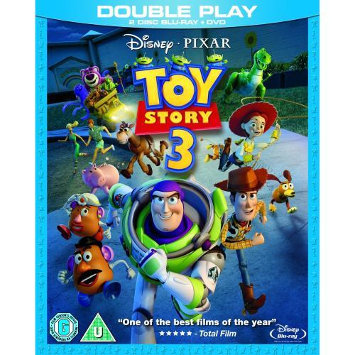 Toy Story 3 ~~~ (2-Disc Blu-ray + DVD) ~~~ 9,56 EUR (inkl. Versand) ~~~ amazon.co.uk