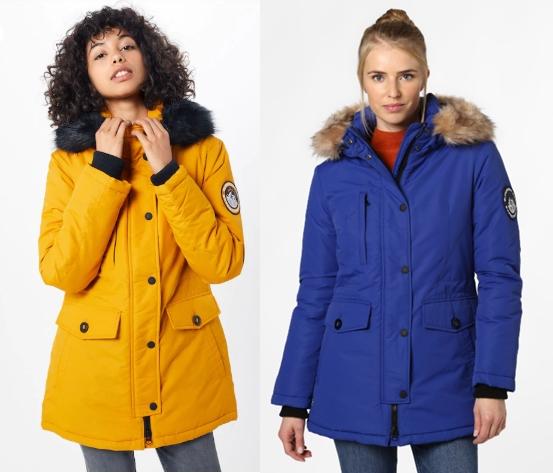 Superdry Damen Jacke - Ashley Everest, verschiedene Farben