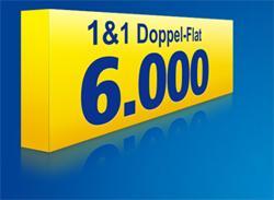 [Online] 1und1 Doppelflat 6000 für 24,99 € (statt 29,99 €) + einmaliger Auszahlung von 25 Euro