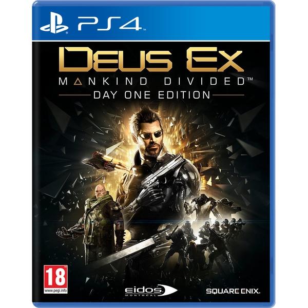 Deus Ex: Mankind Divided Day One Edition (PS4) für 5,98€ (Shop4DE)