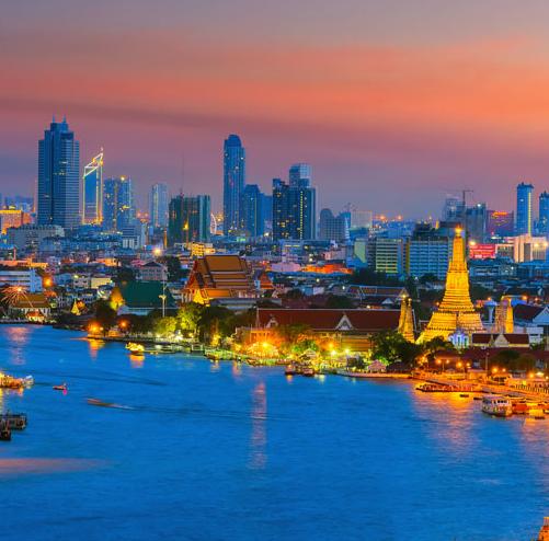Flüge: Bangkok / Thailand (März-Juli/Sept) Hin- und Rückflug mit Turkish Airlines von Stuttgart, Nürnberg und München ab 391€