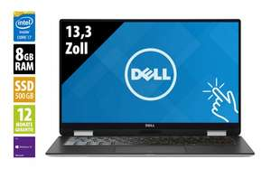 afb shop: Dell XPS 13 2-in-1 (9365) - 13,3 Zoll - Core i7-7Y75 @ 1,3 GHz - 8GB RAM - 500GB SSD - QHD+ 3200x1800 - Touch - Webcam - Win10Pro