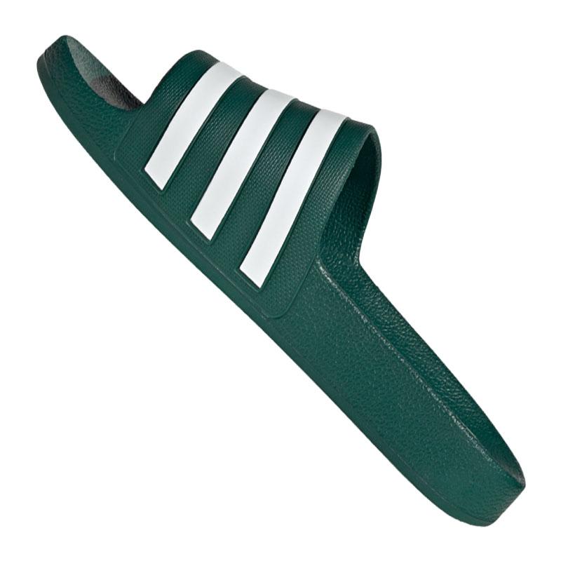 Adidas Adilette Aqua Badelatsche Grün Weiss