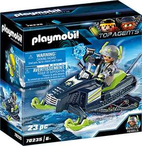 Playmobil Top Agents - Arctic Rebels Eisscooter (70235) für 7,99€ (Amazon Prime & Müller Abholung)