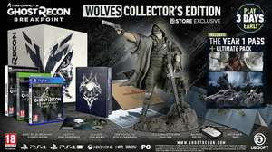 Tom Clancy's Ghost Recon Breakpoint - Wolves Collector Edition (PS4 & Xbox One) für 94,99€ (Ubisoft)