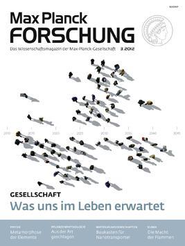 Max Planck Forschung Magazin, pro Quartal kostenlos eine Ausgabe