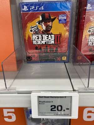 Red Dead Redemption 2 PS4 • Lokal BERLIN SATURN