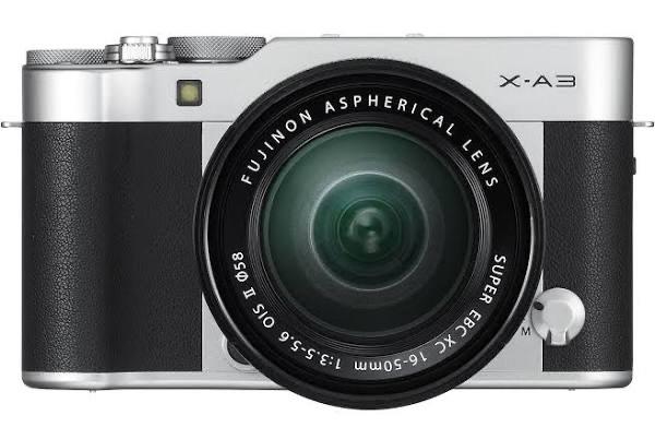 Fujifilm X-A3 Systemkamera inkl. Fujinon XC16-50F3,5-5,6 Objektiv - Body für max. 81,81€ möglich // Budgetkamera