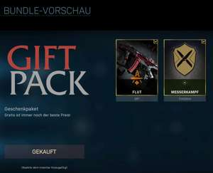 (Personalisiert) PC: Call of Duty: Warzone Gratis Gift Pack (Waffe und Emblem)