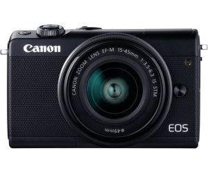 CANON EOS M100 Kit Systemkamera 24.2 Megapixel mit Objektiv 15-45 mm f/6.3, 7,5 cm Display Touchscreen, WLAN [Mediamarkt]