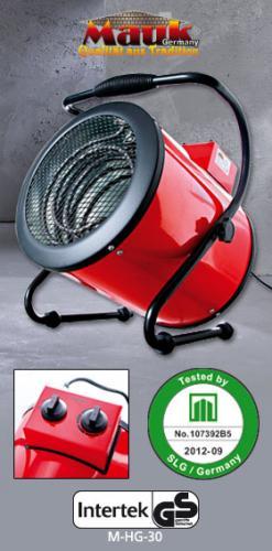 Mauk Elektroheizgerät 59,99 Euro (UVP: 129 Euro - Amazon: 106,50 Euro) ab 9.1.2013 im NORMA Discounter: