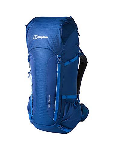 Amazon: Berghaus Herren Trailhead 65 Litre Rucksack, Blau (Deep Water), 65 Liter