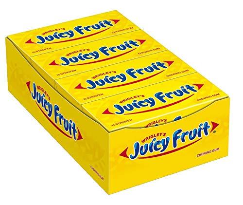 [Prime] Juicy Fruit 15 Streifen, 8er Pack (8 x 15 Streifen)