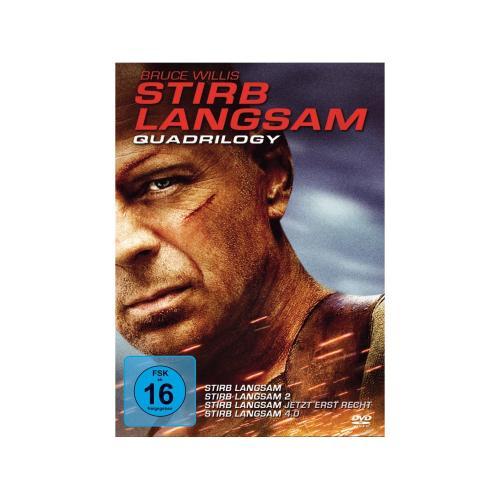 Stirb Langsam Quadrology DVD-Box im Marktkauf für 14,99€ [lokal]