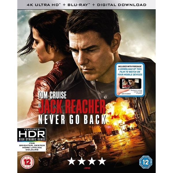 Jack Reacher: Kein Weg zurück (4K Blu-ray + Blu-ray) für 10,98€ inkl. Versand (Shop4de)