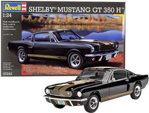 Revell Modellbausatz Auto Shelby Mustang GT 350 H im Maßstab 1:24, Skill-Level: 3 für 17,43€ (Amazon Prime & Real Abholung)