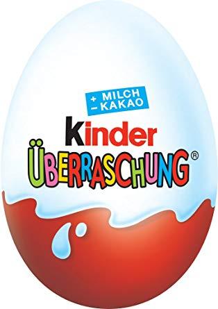 Kinder Ü-Ei für 49 Cent pro Stück (regional sogar nur 0,44€)