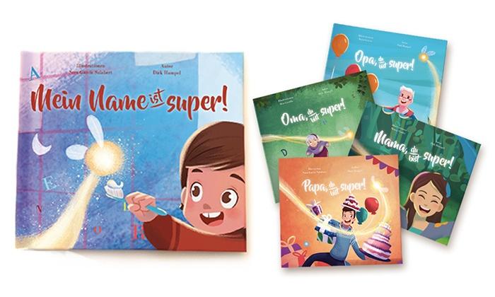 Story of My Name: Personalisiertes Kinderbuch mit individueller Geschichte von The Story Tailors