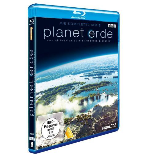 Blu-Ray Schnäppchen:  Planet Erde - die komplette Serie (5 Discs) ••• 17,14 € (inkl. Versand) ••• @zavvi.com