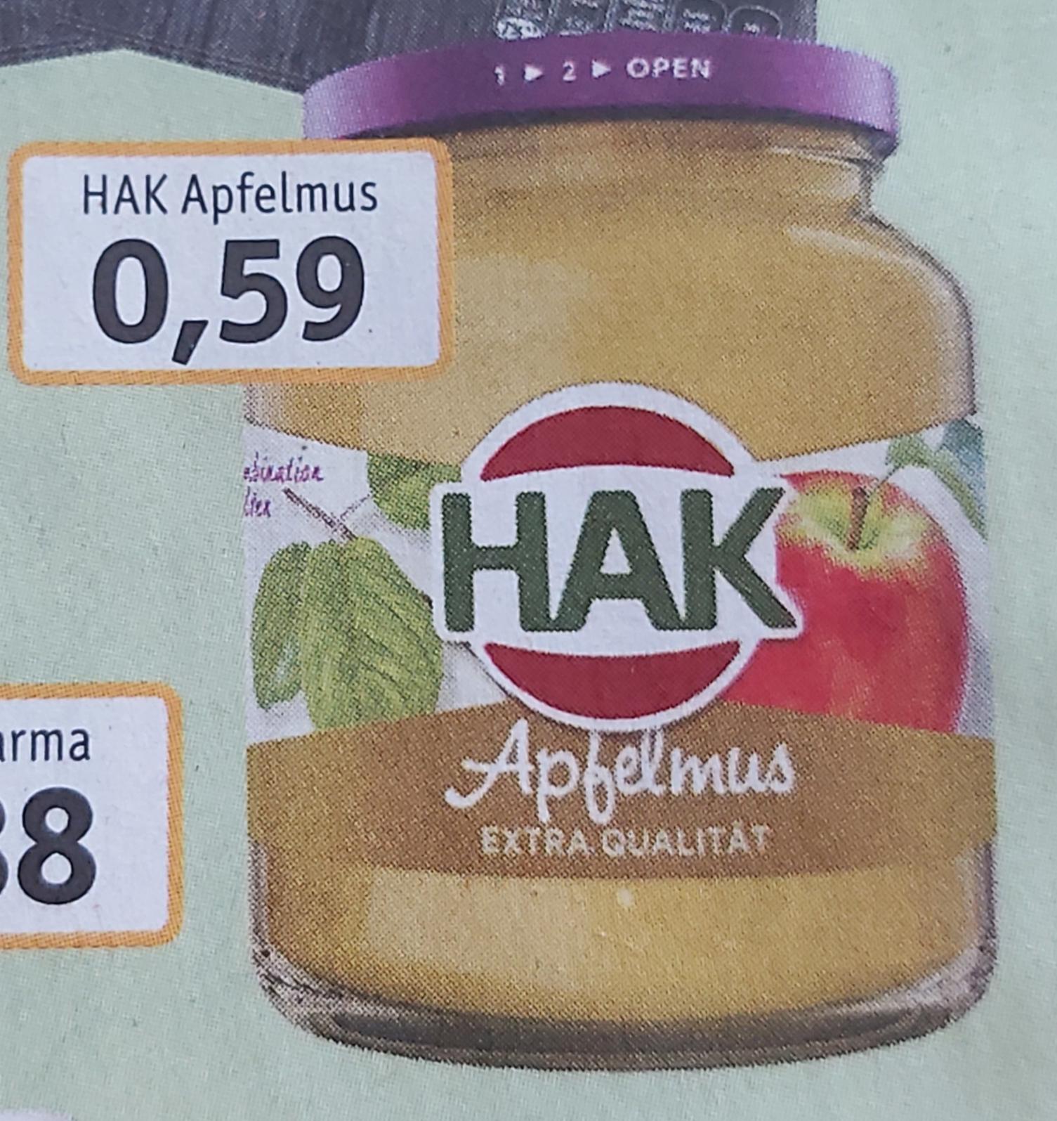 [ Trink&Spare ] HAK Apfelmus mit 2* 50% Cashback bei Scondoo für je 0,30€