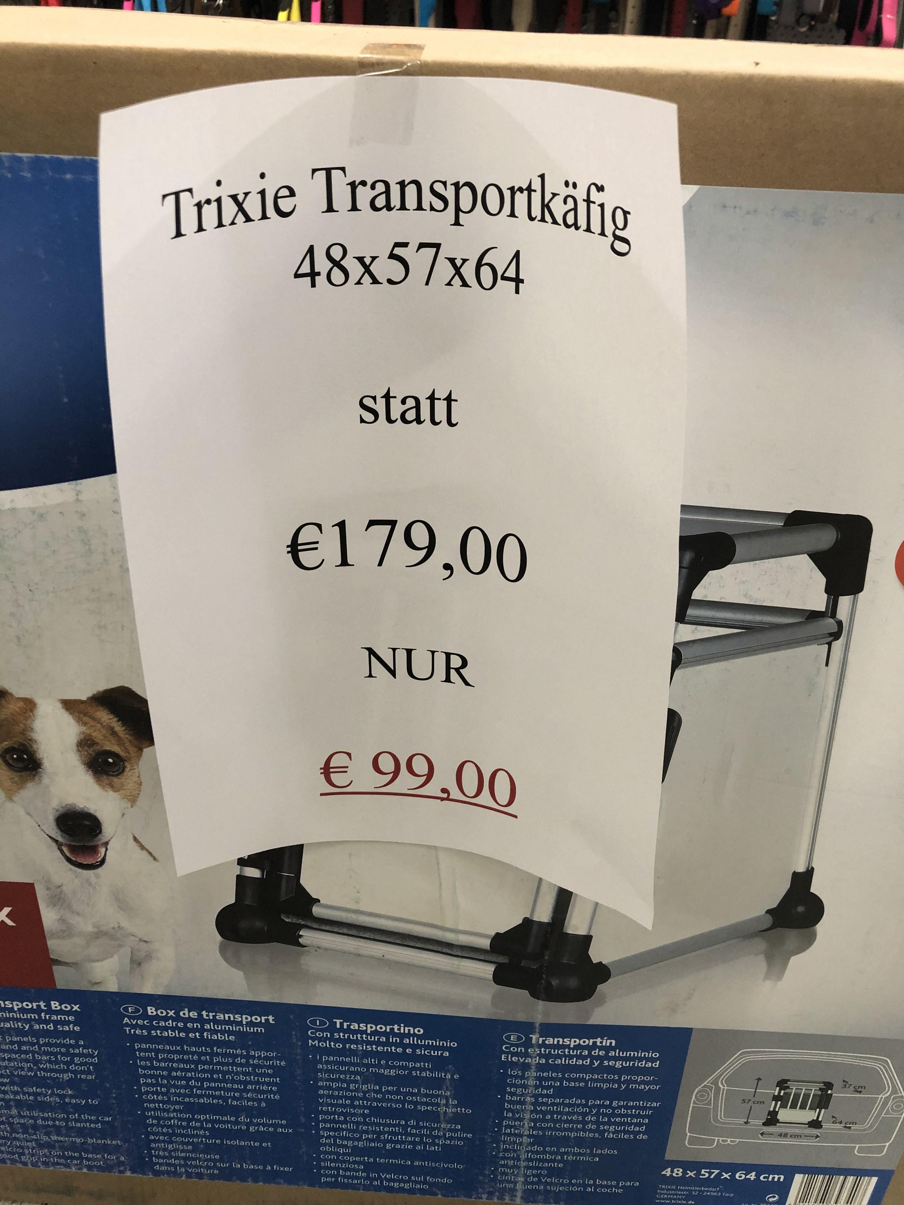 Lokal Zookauf Hannover Transportbox für Hunde