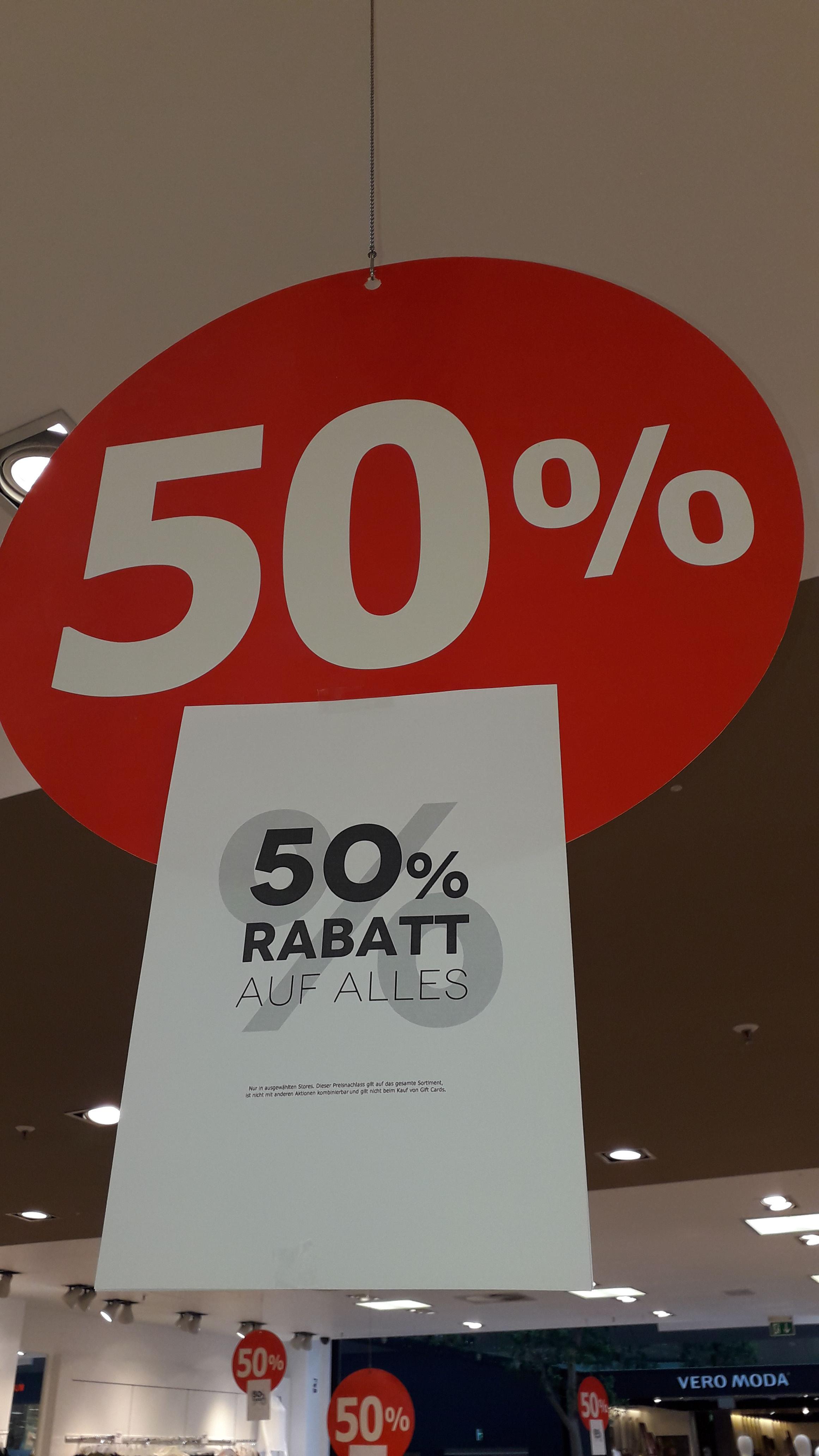 (Lokal) Colloseum im Paunsdorf Center Leipzig 50% auf alles !!!!