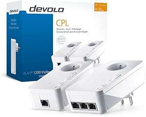 (Amazon WHD) Devolo 9908 Repeater/Power Lan 3 Ports Gigabit Ethernet (Sehr Gut)