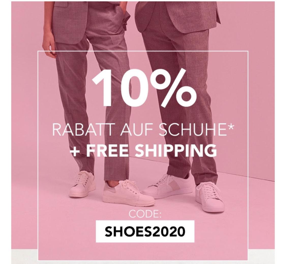 Gratis Versand + 10% auf alle Schuhe bei BestSecret