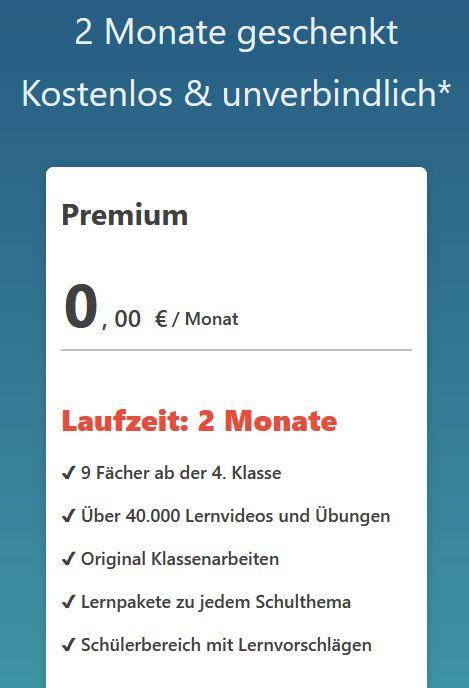 Zwei Monate Duden Learnattack Premium kostenlos (Mitgliedschaft endet automatisch)