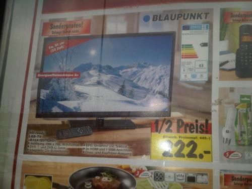 [lokal Bremen Kaufland] Blaupunkt LED-TV B32A129TCHD - 222€