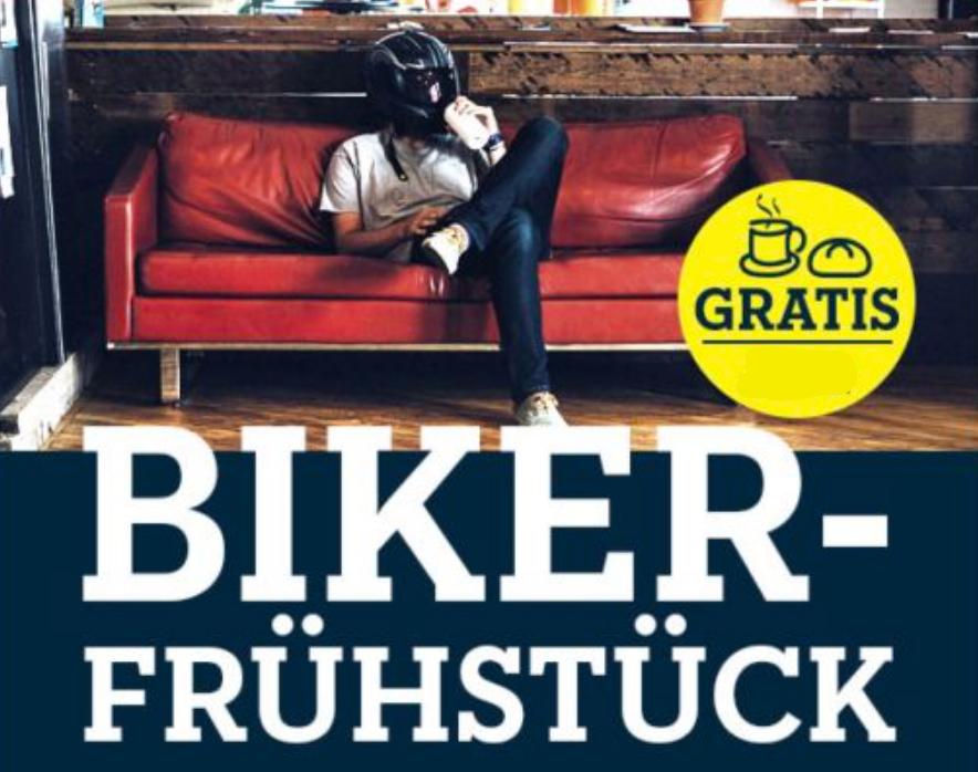 gratis Biker-Frühstück am 04.04. bei Polo Motorrad in Hannover, Halle, Chemnitz, Leipzig