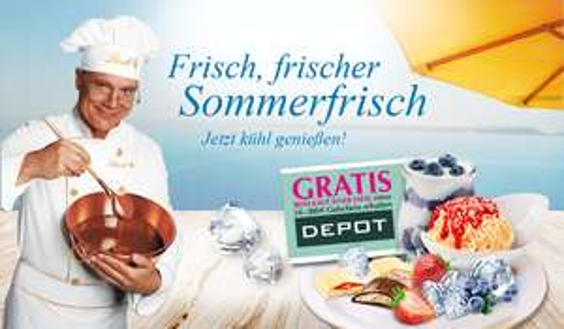 [Lindt] Sommertafel Schokolade von Lindt kaufen und Gutschein (5-200€) für Depot geschenkt bekommen