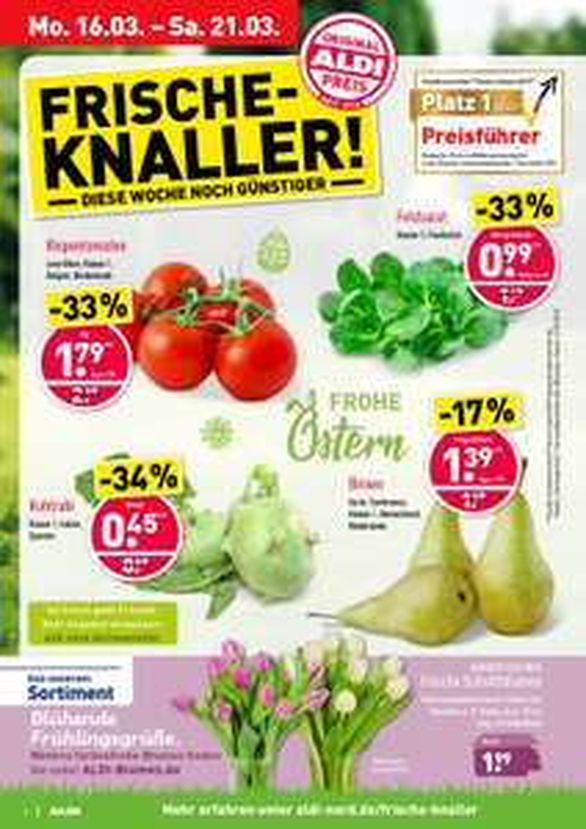 Aldi Nord Rispentomaten Kg 1,79€ Aus Belgien/Niederlande