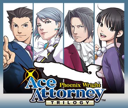 Phoenix Wright: Ace Attorney Trilogy (3DS) für 9,89€ (eShop)