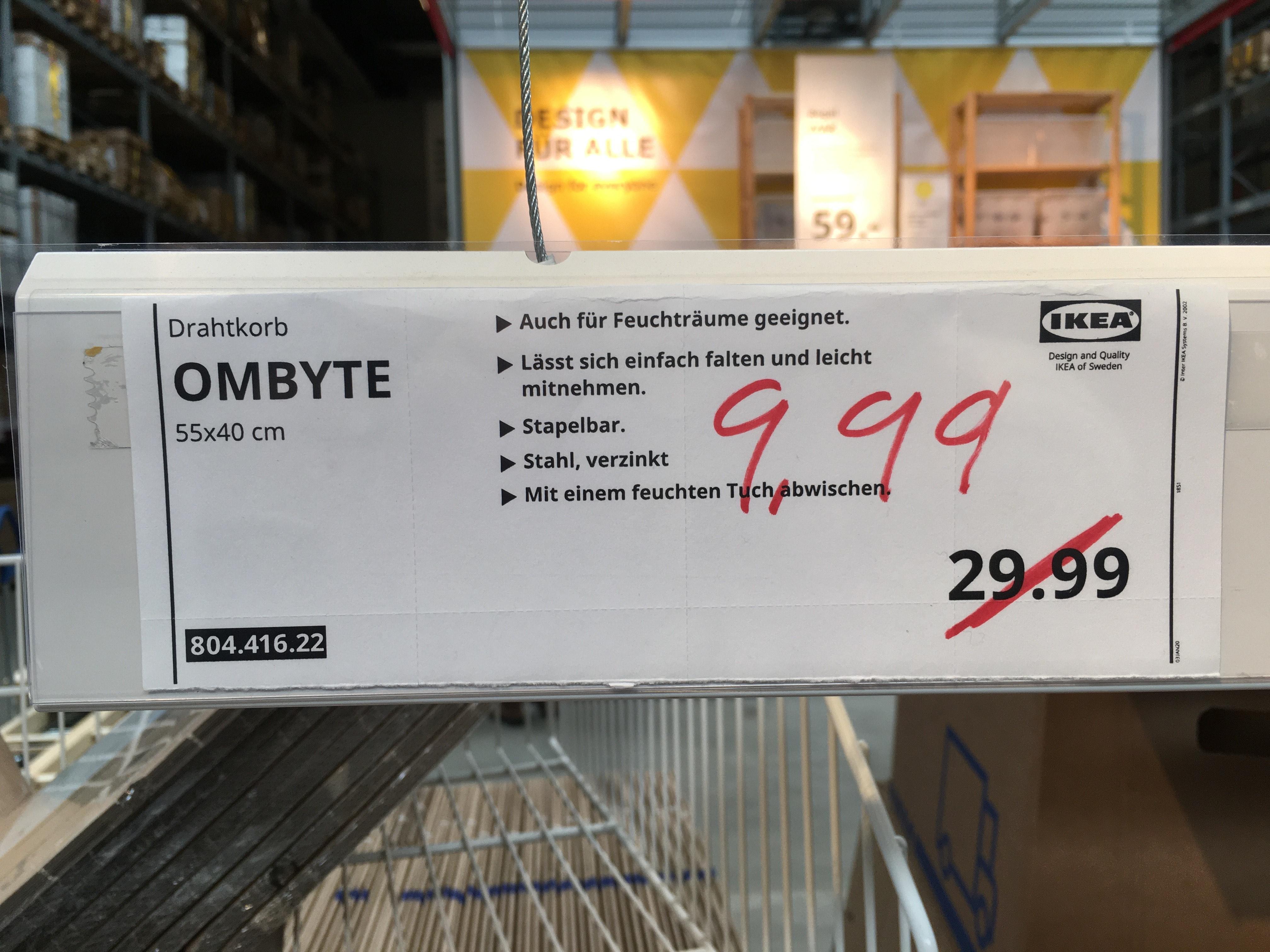 [LOKAL] IKEA Berlin Tempelhof OMBYTE Drahtkorb