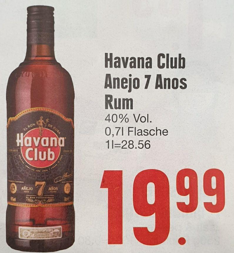 [Edeka Südbayern] Havana Club Añejo 7 Años, 0,7 Liter