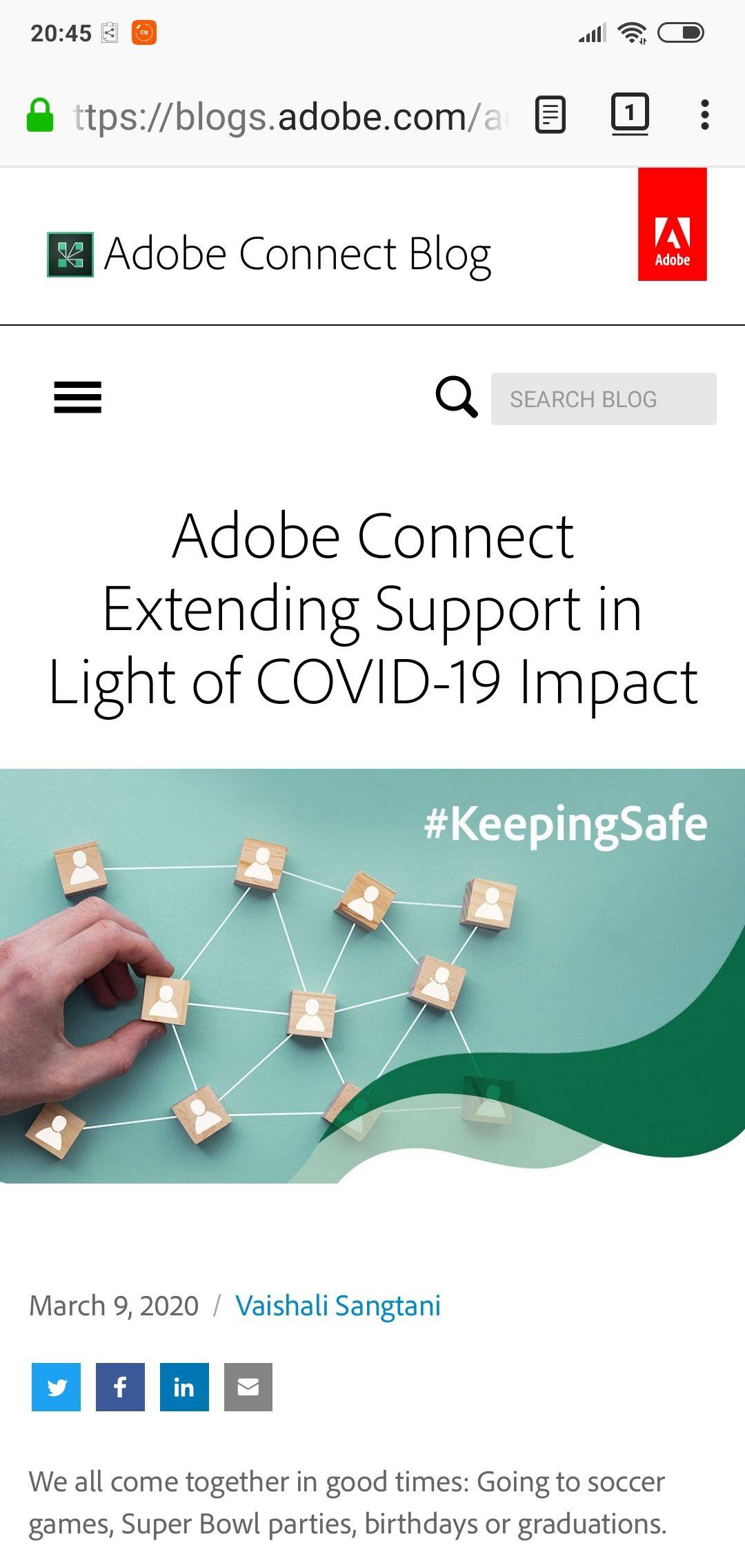 Adobe Connect 90 Tage gratis wegen Corona