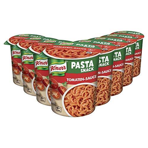 8x Knorr Pasta Snack Tomaten-Sauce 69 g | Spar-Abo 4,41€ [Amazon Prime]