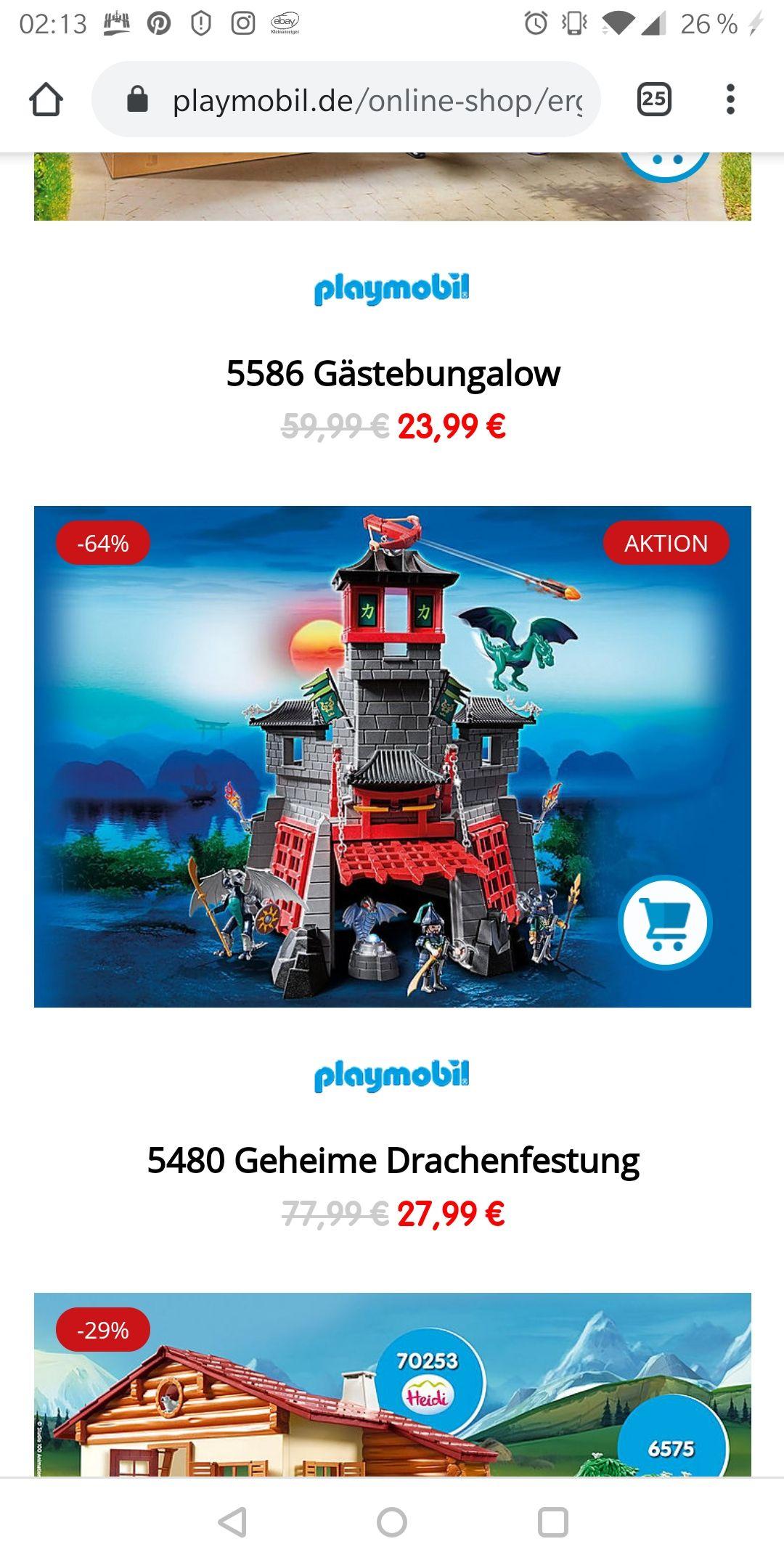 Playmobil 5480 Geheime Drachenfestung im Playmobil Onlineshop
