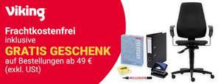 Viking 10% Cashback + 10€ Shoop.de-Gutschein ab 69€ MBW, 20€ Rabatt ab 165€ MBW [Shoop]