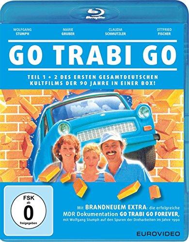 Go Trabi Go Teil 1 + 2 (Blu-ray) für 6,97€ (Amazon Prime & Dodax)
