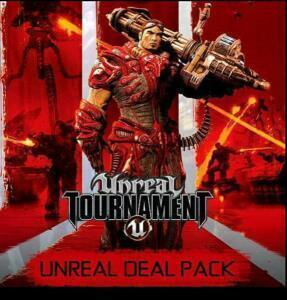 Unreal Deal Pack: Unreal 2: The Awakening, Unreal Gold, Unreal Tournament 3 Black, Unreal Tournament:GotY (Steam) für 1,88€ (GamersGate UK)