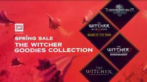 The Witcher Goodies Collection - Artworks, Bücher, Soundtracks, Making-of-Videos (GOG)