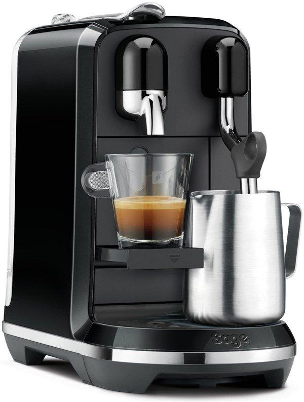 Nespresso Sage SNE500BKS The Creatista Uno Black inkl. 100 Kapseln geschenkt