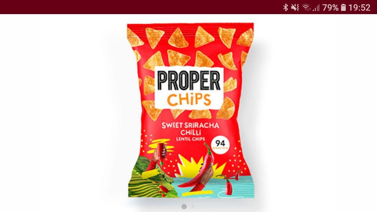 4 Packungen PROPER Chips gratis über die scondoo App (freebie)