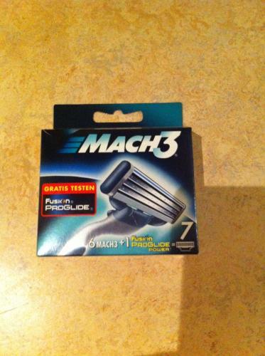 6 Gillette Mach 3 Klingen + 1 Fusion Proglide Power für 9,99€ @ Penny