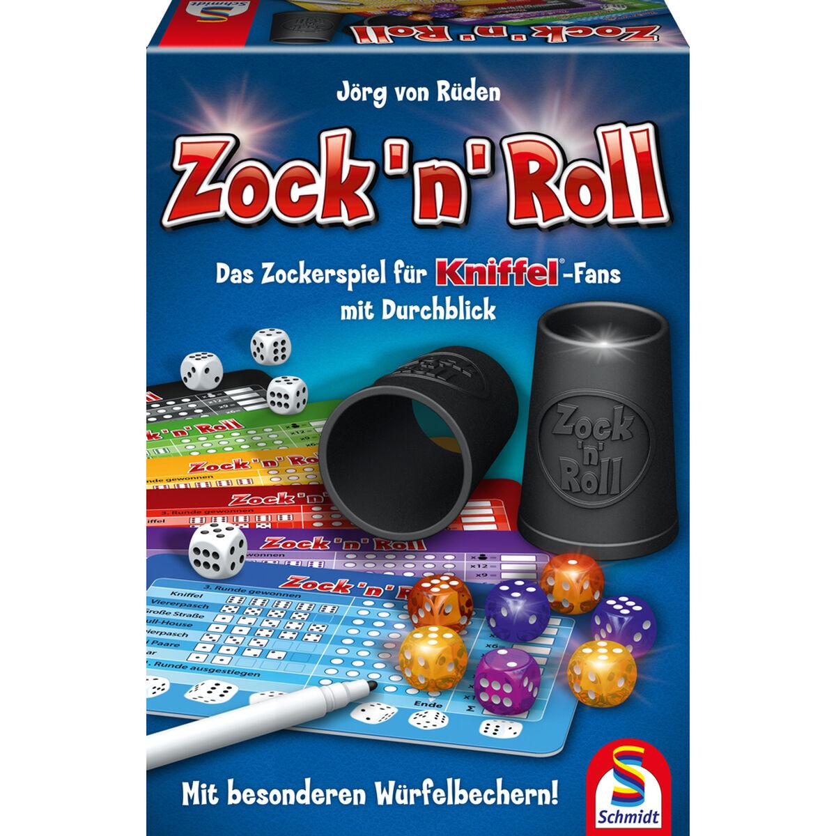 ( Galeria Karstadt Kaufhof Filiallieferung ) Zock 'n' Roll von Schmidt Spiele