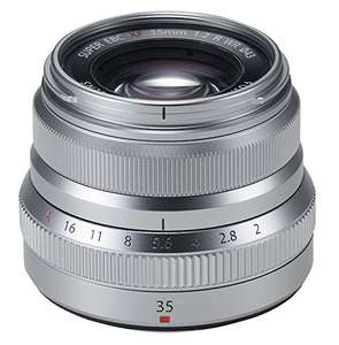 Fujifilm Fujinon XF35mm F2 WR für Fuji X-Mount silber