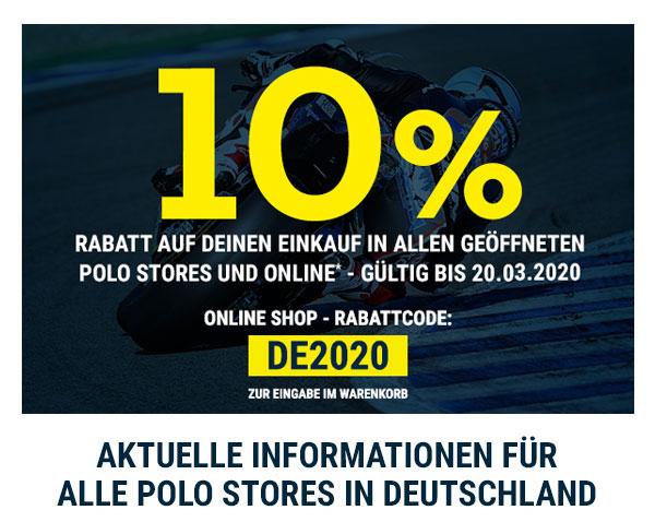 Polo Motorrad : 10% auf den Einkauf (online / offline)