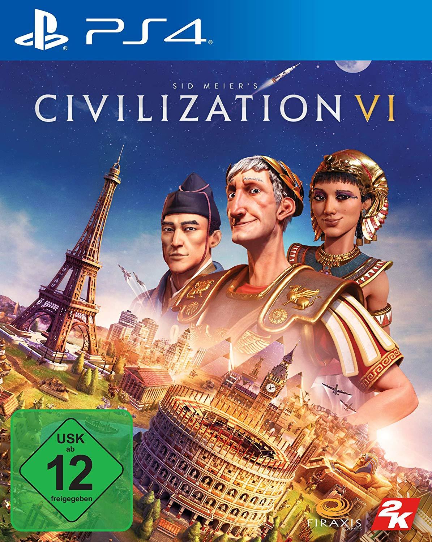 Sid Meier's Civilization VI (PS4) für 17,99€ & mit Steelbook für 24,77€ (Amazon Prime)